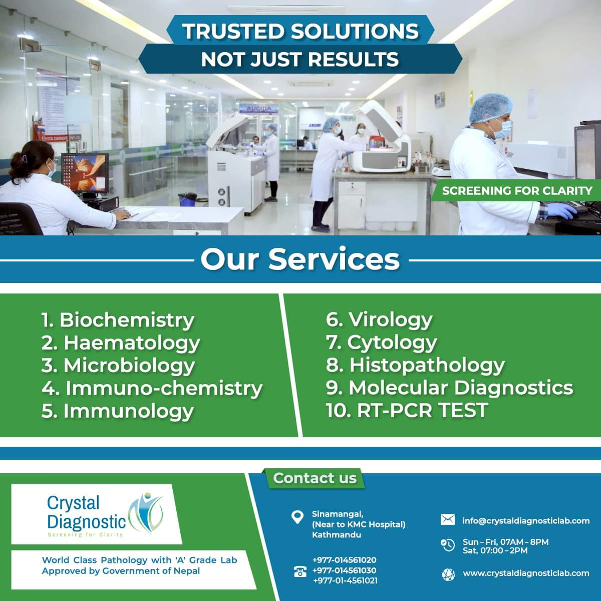 Pathology | Diagnostics Lab in Nepal